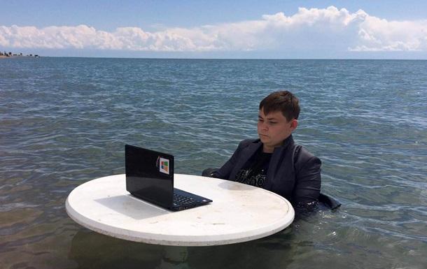 Российский школьник повторил свой «болотный мем»