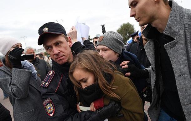 Акции протеста в России: более 260 задержанных