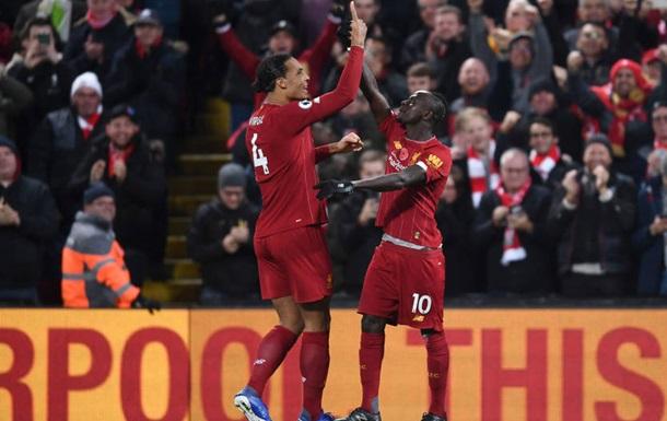 Ливерпуль уверенно обыграл Манчестер Сити на Энфилде