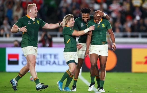 Сборная ЮАР в третий раз стала чемпионом мира по регби