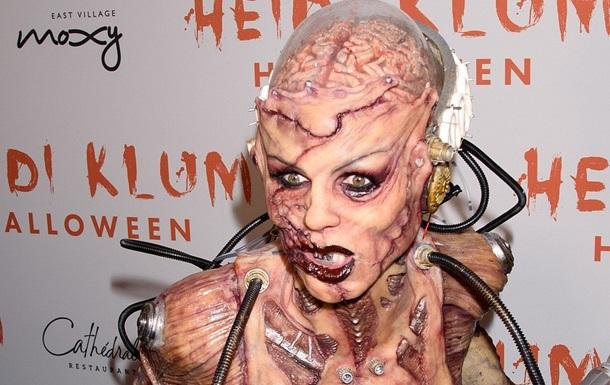 Королева Хэллоуина: Хайди Клум шокировала костюмом