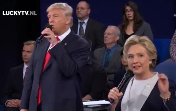 """Трамп и Клинтон """"спели"""" украинскую песню"""