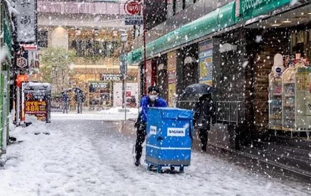 В Японии более 60 человек погибли при уборке снега