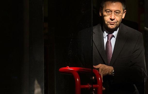 Полиция задержала экс-президента Барселоны Бартомеу