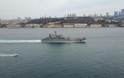 Два больших десантных корабля РФ вошли в Черное море