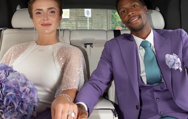 Свитолина показала фотографии со свадебной вечеринки
