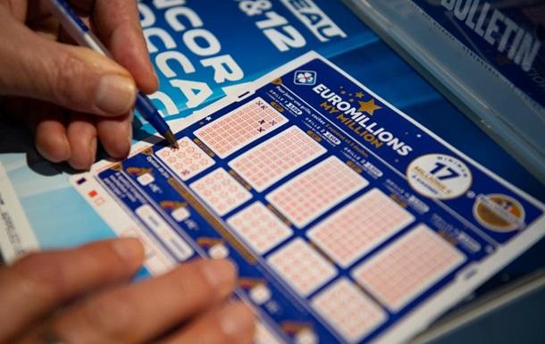 Джекпот Евромиллионов уже достиг 178 миллионов евро, выиграть приз онлайн может любой житель Украины